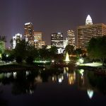 Could a park in the heart of Charlotte utilized for protest be paved over?