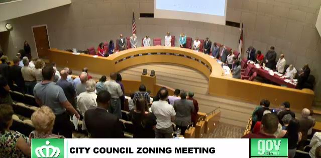 charlotte city council prayer
