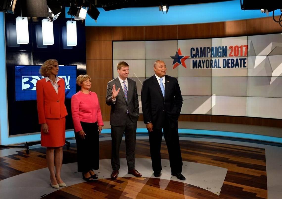 Charlotte mayoral candidates