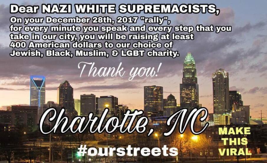 nazi white supremacists charlotte