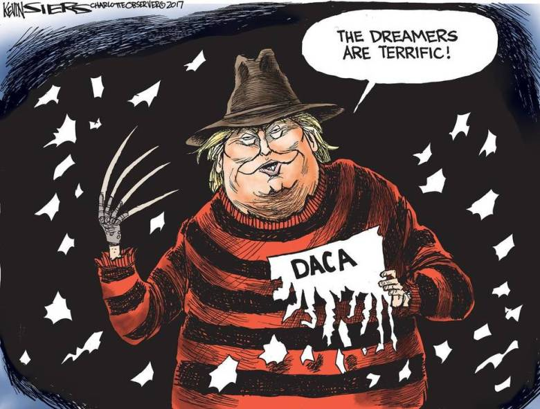 Trump DACA cartoon