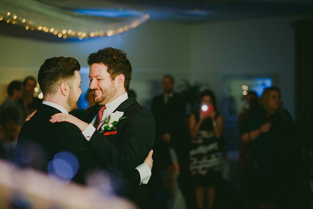 gay couple wedding