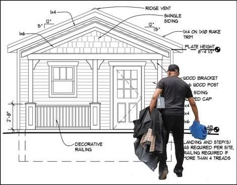 Housing elevation design