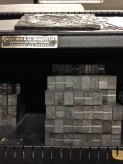 go radiate letterpress