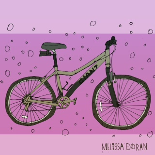 Day 13 #100DaysofBicycles My sister Ann Marie's bike