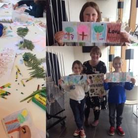 Workshop with melissa Doran at Gorey Library 2016