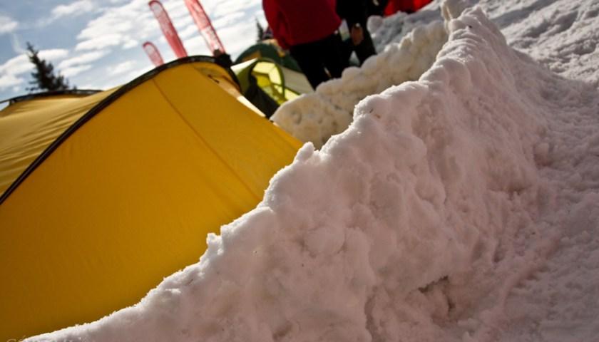 Wintercamp na Turbaczu