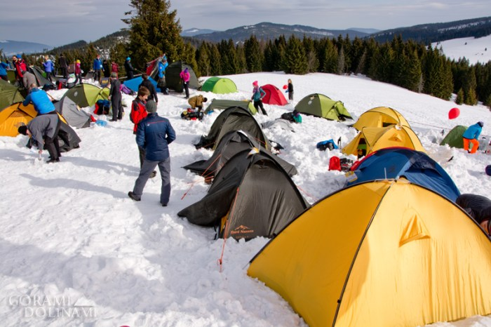 Wintercamp na Turbaczu