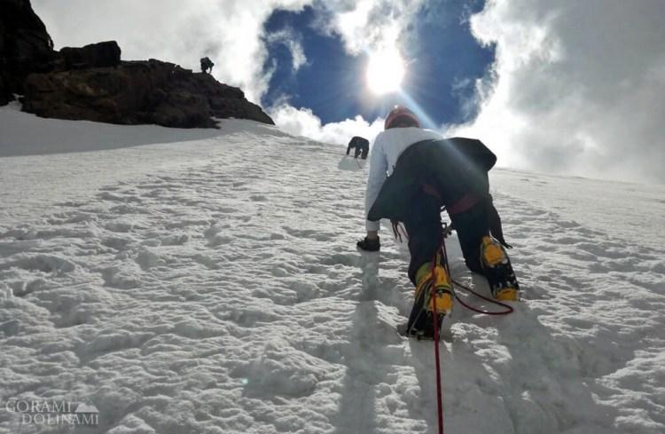 Wspinaczka na szczyt Corno Nero