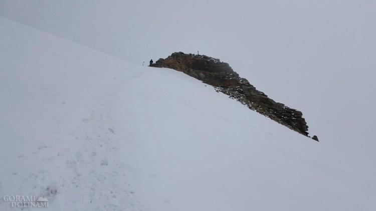 Szczyt Punta Giordani