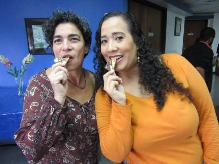 Facilitadora AuraBrito y Patrocinante Monica Ramos de @delicias_monik
