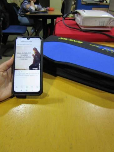 Prácticas : Publicación desde el móvil