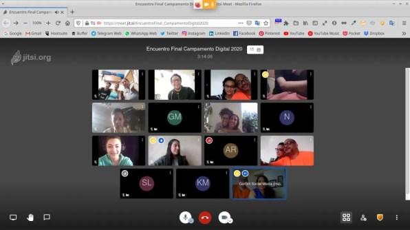 campamento digital 4ta edición gorbrit social media