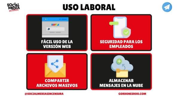 Uso Laboral de Telegram