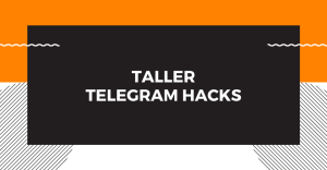 Taller: Telegram Hacks, 2da edición @ YouTube