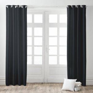 Kant en Klaar Gordijn Verduisterend Zwart - 260cm x 140cm