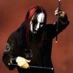 Joey Jordison from Slipknot being sad and alone.