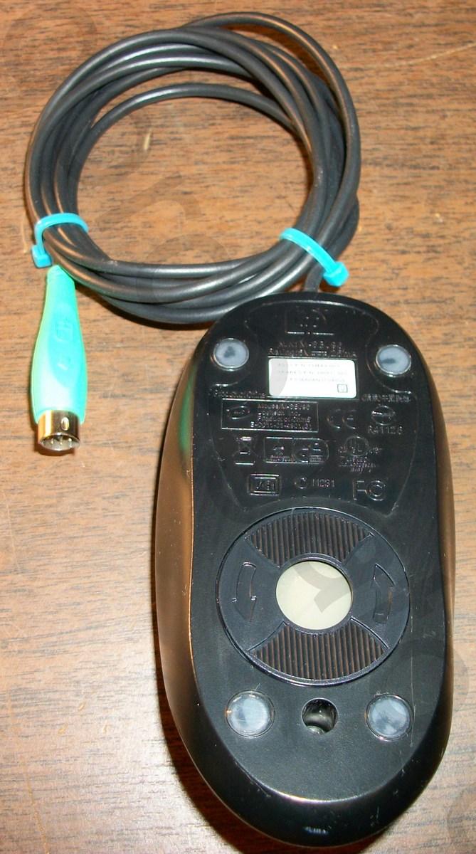hight resolution of logitech hp ps2 ps 2 ball 2 button black scroll mouse gordogato s interesting stuff