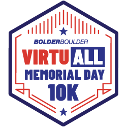 BOLDERBoulder VirtuALL Memorial Day 10K