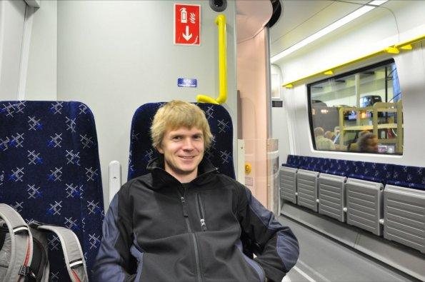 Sitting in a Class 380
