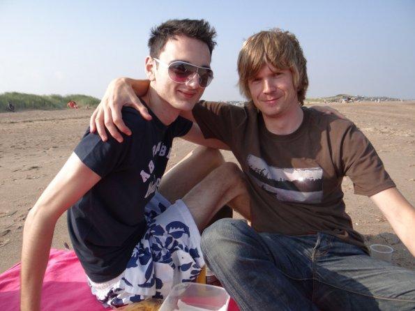 Adam and myself at Skegness