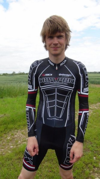 PBK Team Long Sleeve Skinsuit 2009