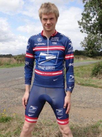 USPS team cycling gear