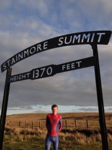 Spiderman @ Stainmore Summit