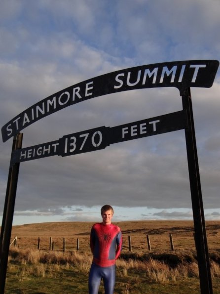 Spiderman @ Stainmore Summit