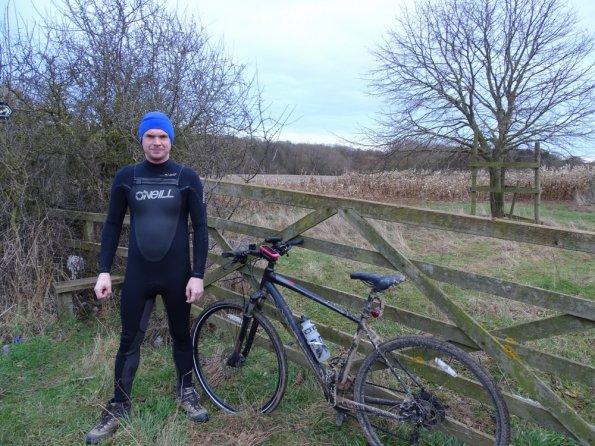 First wetsuit cycle of 2017