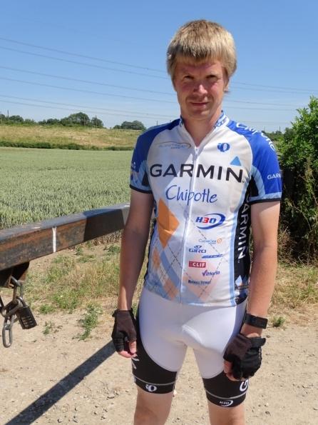 Pearl Izumi Team Garmin-Chipotle team kit