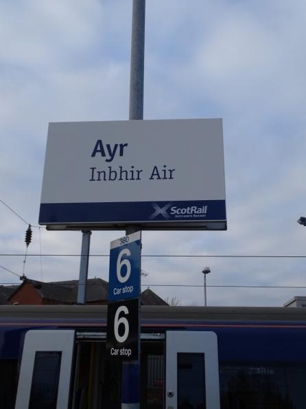 Ayr railway station