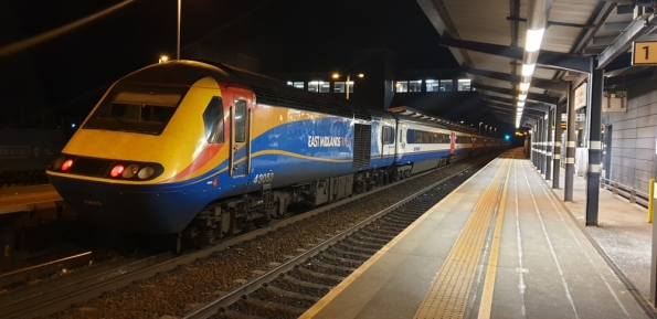 InterCity 125 @ East Midlands Parkway