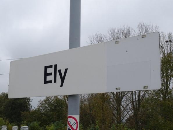 Ely railway station