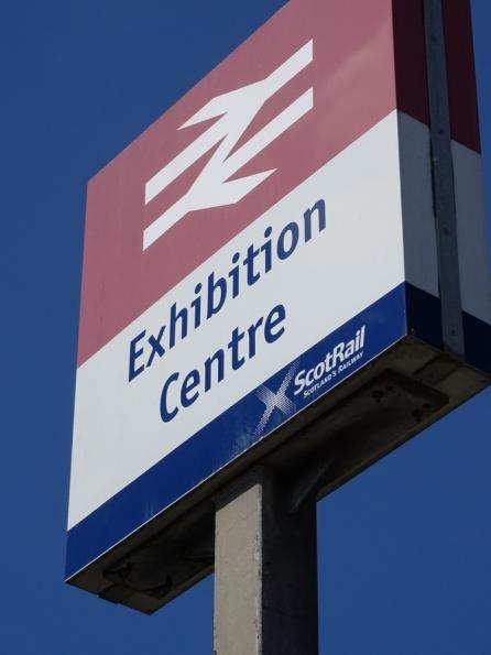 Exhibition Centre railway station