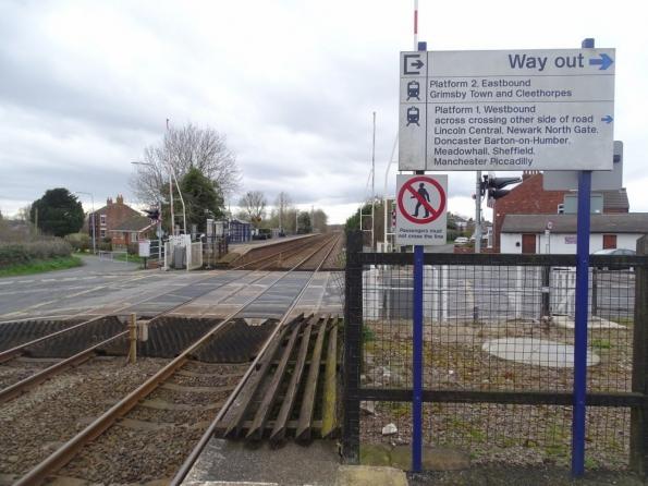 Habrough railway station