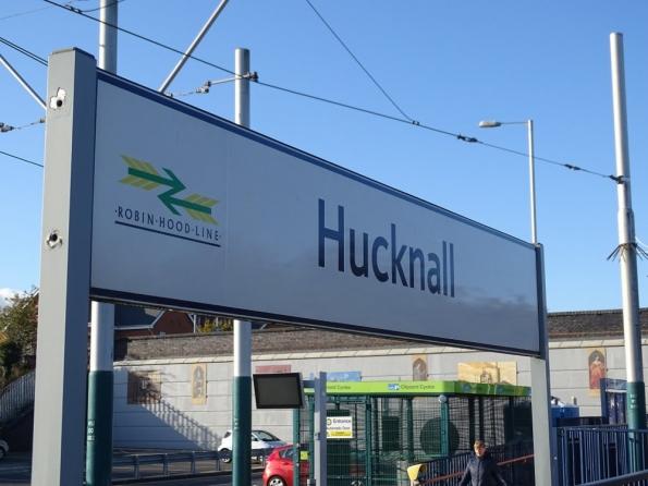 Hucknall railway station