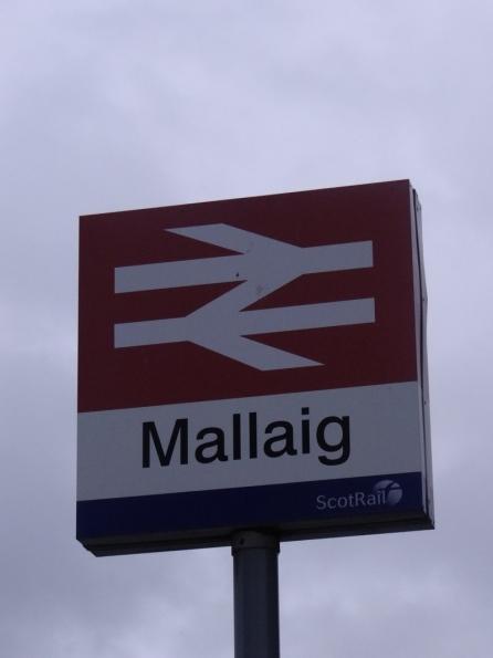 Mallaig railway station