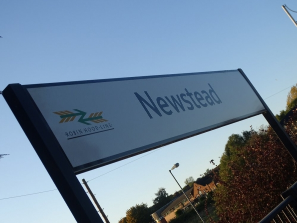 Newstead railway station