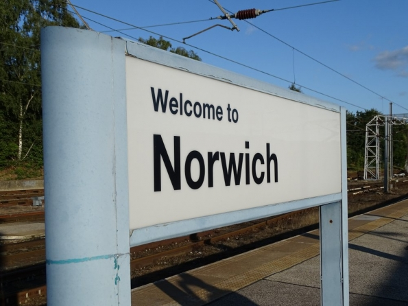 Norwich railway station
