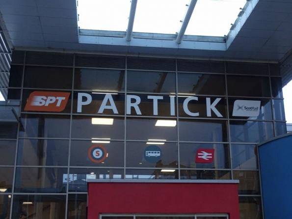 Partick railway station