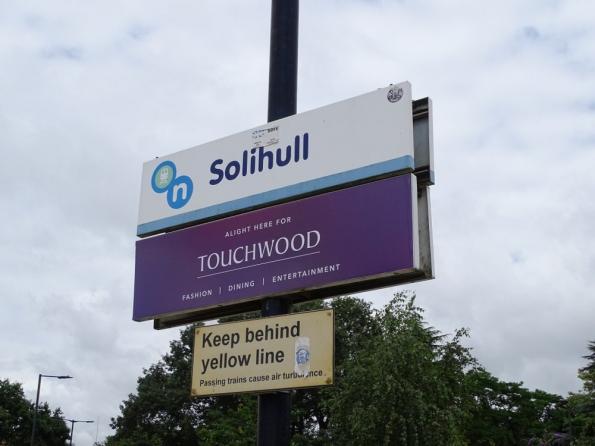 Solihull railway station