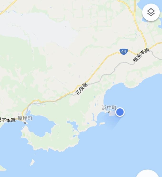 霧多布岬 場所