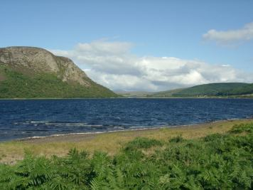 Looking North-West up Loch Brora
