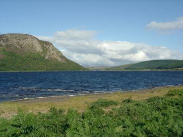 Looking North-West up Loch Brora