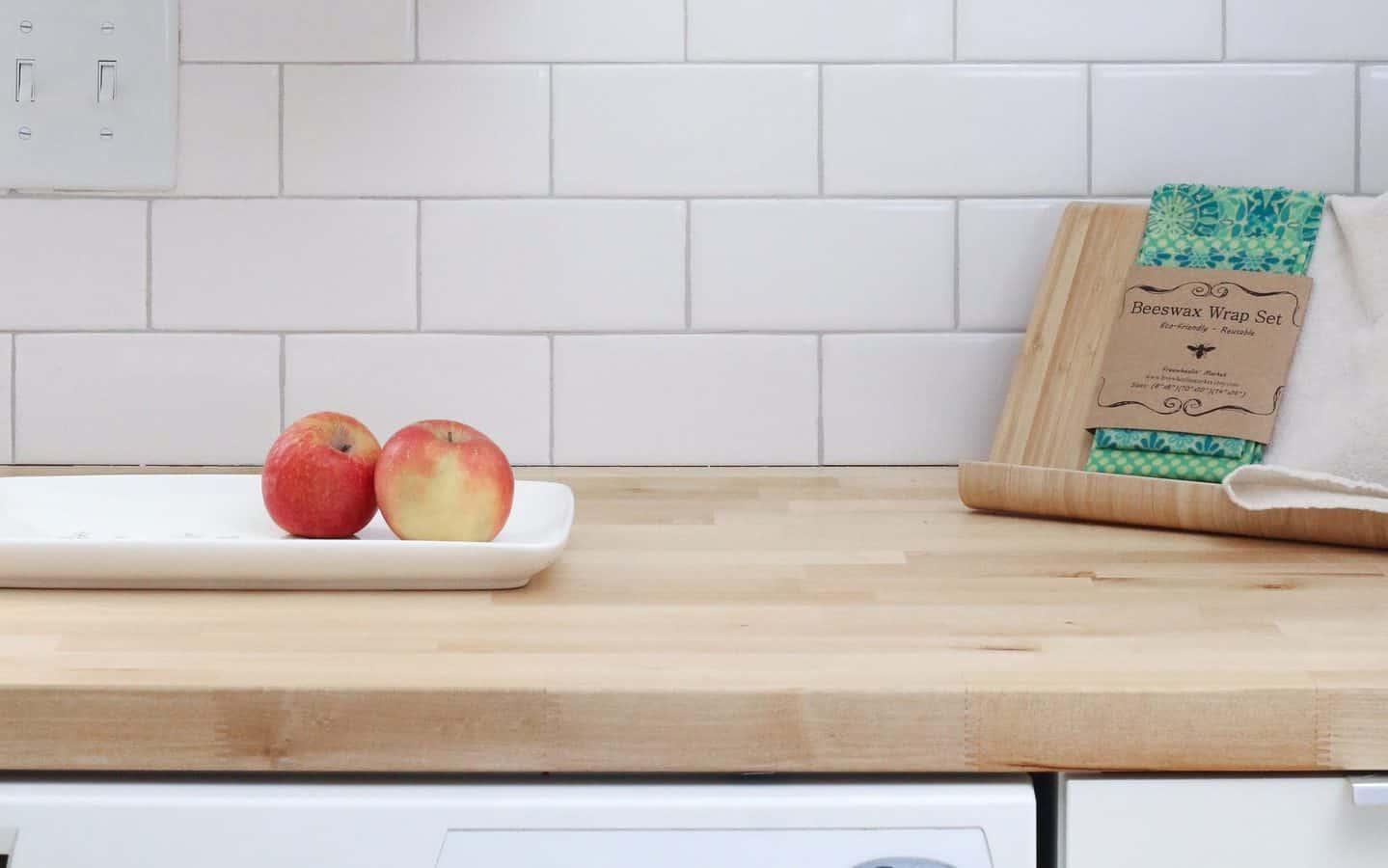 kitchen countertop wooden