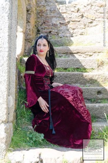 Superstitchious fashion shoot dress