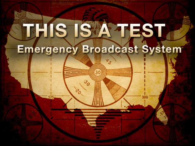Emergency Broadcast System graphic - Nov. 9, 2011