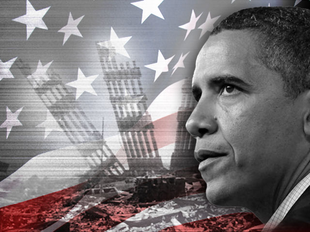 Obama and 9/11 Anniversary graphic - Sept. 11, 2009