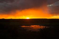 Another beautiful sunset at the Morniga waterhole
